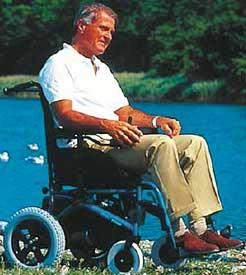Vídeo alquiler de silla de ruedas eléctrica
