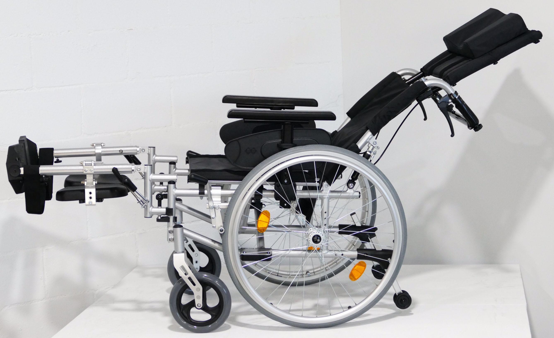 Silla de ruedas reclinable de aluminio al mejor precio de venta - Catalogo de sillas de ruedas ...