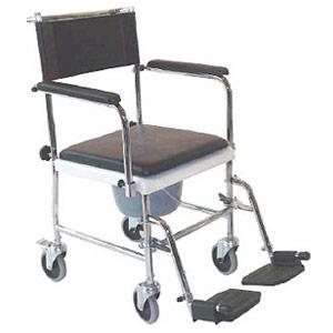 Silla de ruedas fija para wc econ mica precio for Sillas wc para enfermos