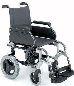 Silla de ruedas plegable breezy 250 de venta en la boutique de la salud for La boutique de la silla