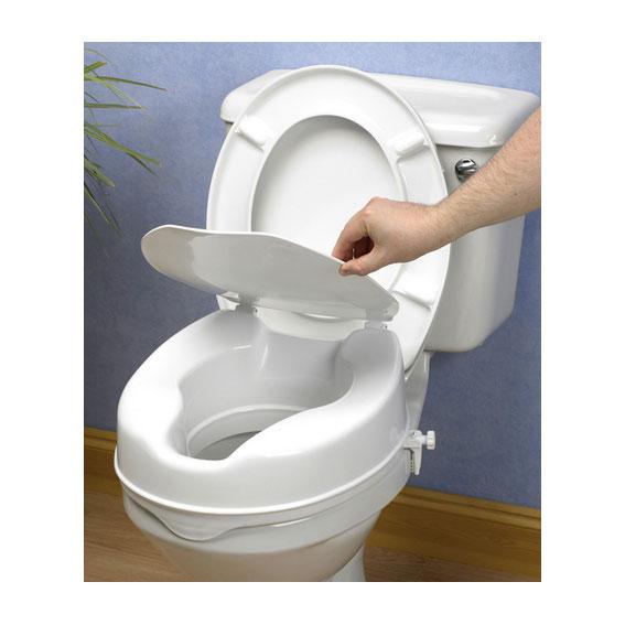 Baño General En Silla:Alzas para WC con tapa AD509 Lux – Precio, Disponibilidad, Marca – SCI