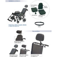 Accesorios sillas de ruedas