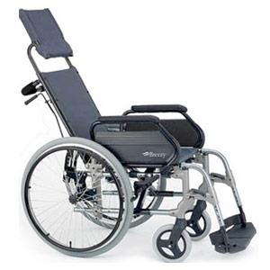 e aluminio Breezy reclinable