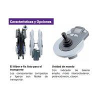 Silla ruedas eléctrica E-Fix E25
