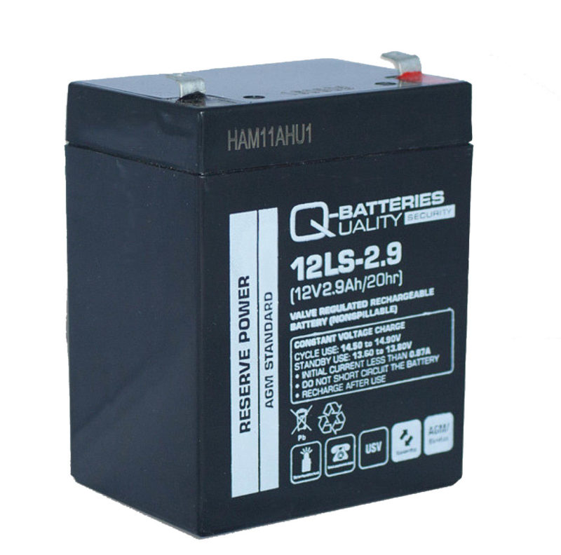 Baterías de 2.9 amperios para grúas de enfermo