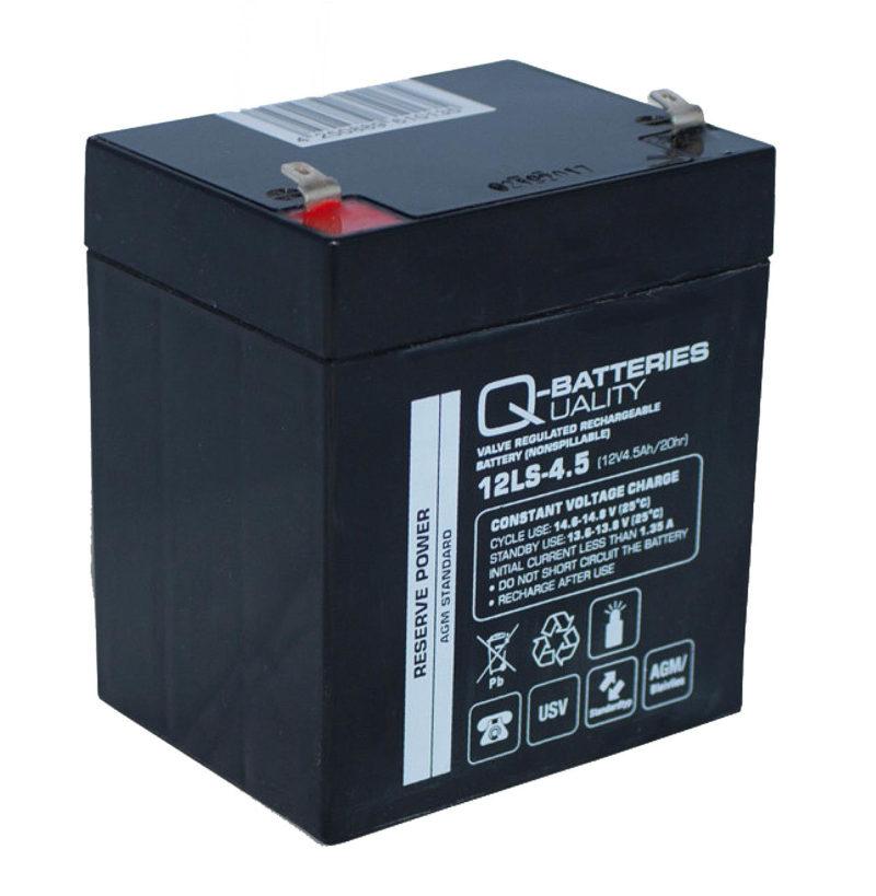 Baterías de 4.5 amperios y 12 V