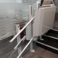 plataformas Salvaescaleras rectas