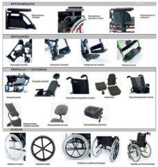 Accesorios para Sillas de ruedas Breezy Style