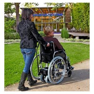 Vídeo motor para silla de ruedas