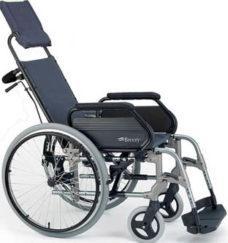 Silla de ruedas Breezy reclinable
