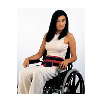 Cinturón perianal para silla de ruedas