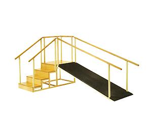 Escalera con rampa FM-069