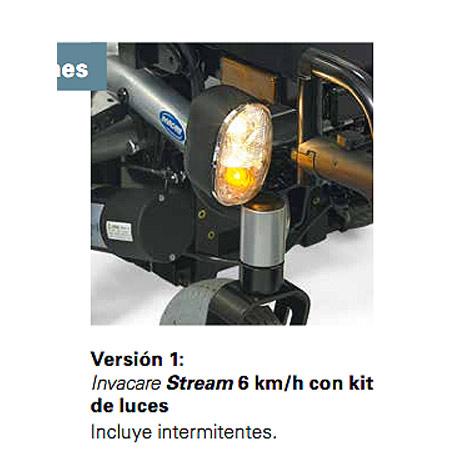 Silla de ruedas eléctrica Stream