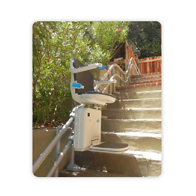 Silla salvaescaleras exterior diga adios al problema escaleras for Silla salvaescaleras