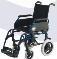 Silla de ruedas plegable Breezy 250 rueda pequeña