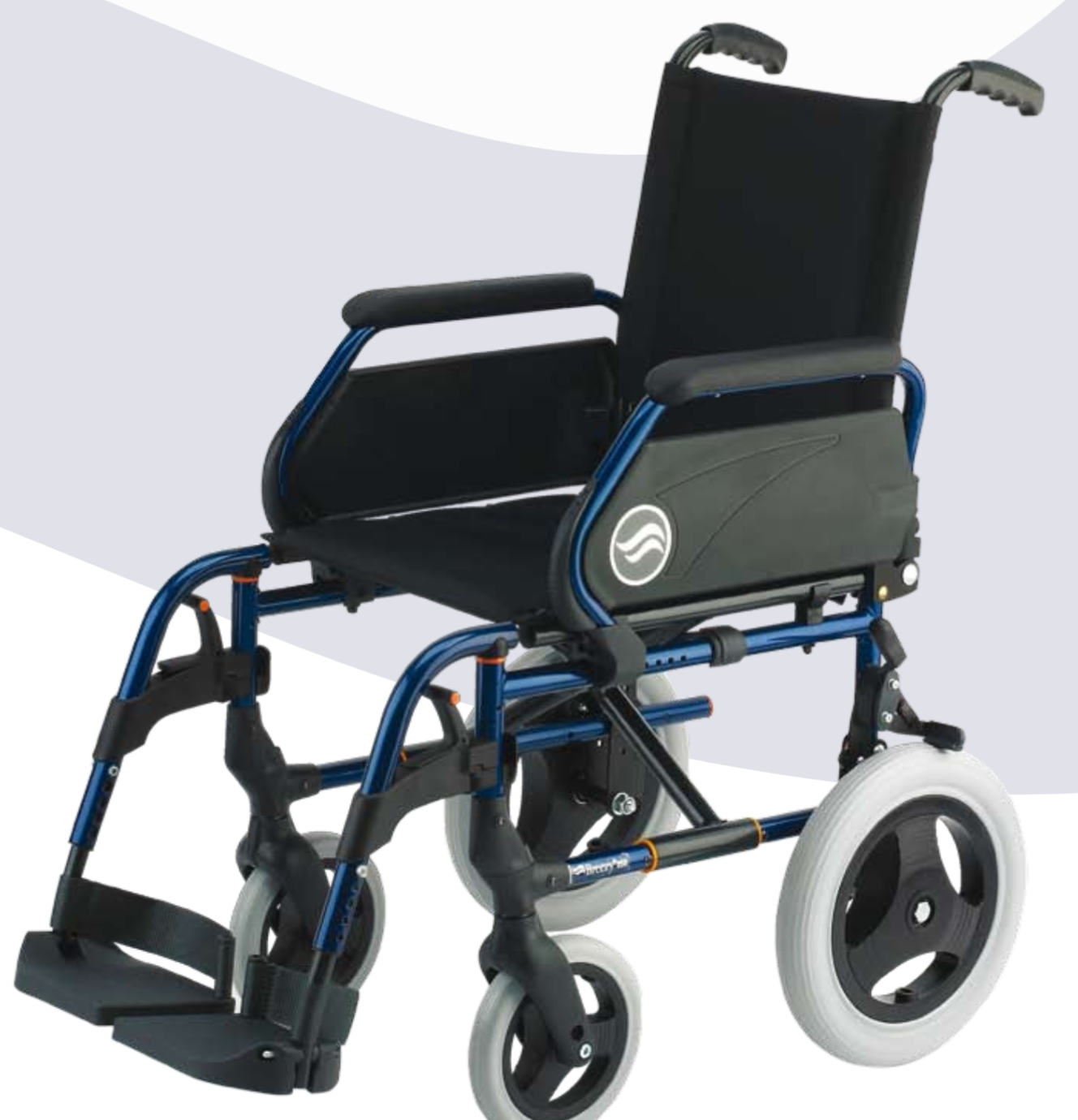 Silla de ruedas plegable breezy 250 de venta en la boutique de la salud - La boutique de la silla ...