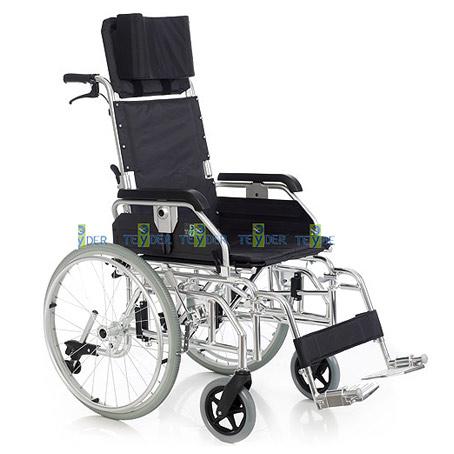 Silla de ruedas de aluminio reclinable teyder precio for Precio sillas reclinables