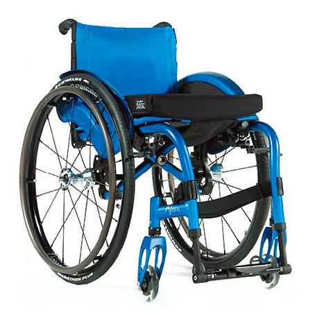 silla de ruedas neon