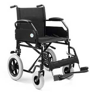 Silla de ruedas plegable transito supereconómica PC 20