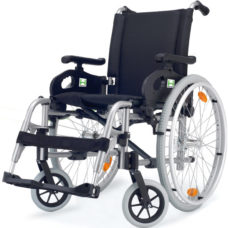 Silla de ruedas de aluminio Dromos