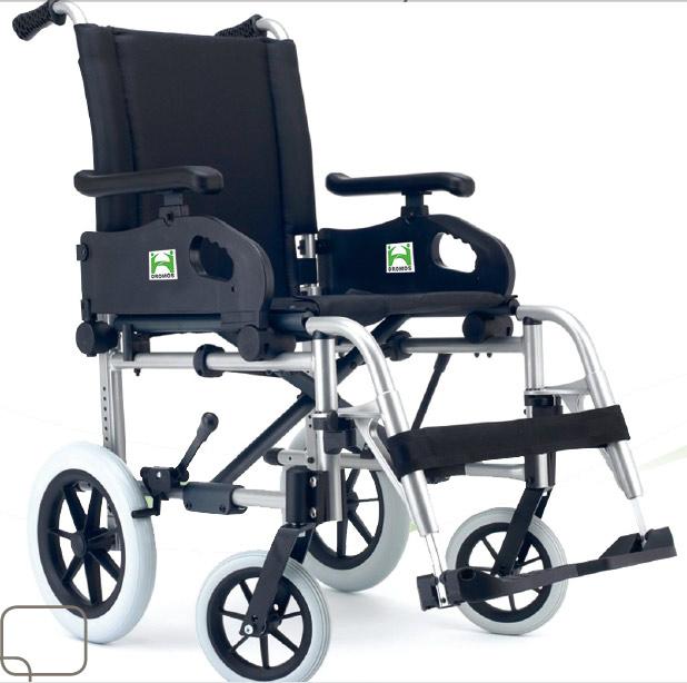 silla de ruedas aluminio plegable segunda mano