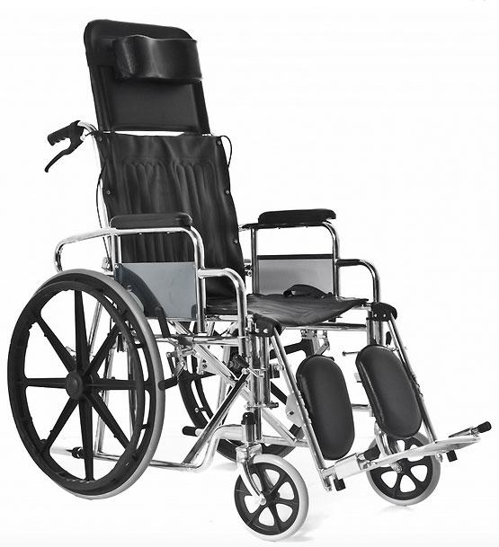 silla de ruedas respaldo alto