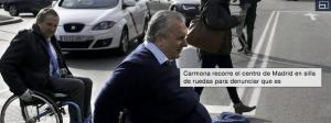 Accesibilidad en Madrid para sillas de ruedas