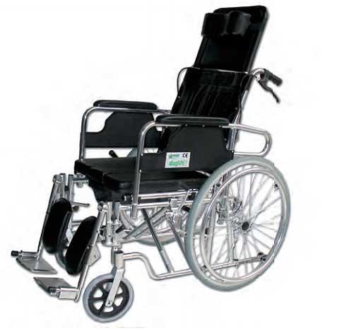 Silla de ruedas de aluminio reclinable precio barato for Precio sillas reclinables