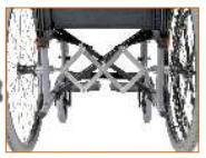 Silla de ruedas de Hemiplejia Celta