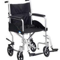 Silla de ruedas de aluminio económica