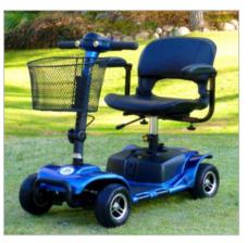 Scooter Litium 4 ruedas
