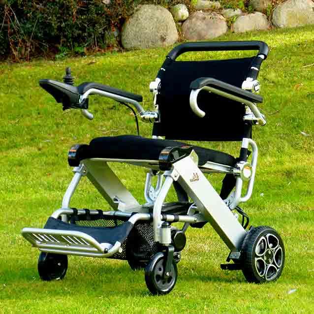 Vídeo silla de ruedas eléctrica Mistral