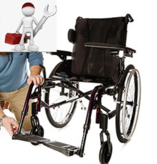 Reparación de sillas de ruedas