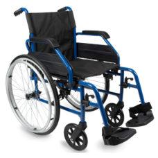 Silla de ruedas plegable de aluminio Saby