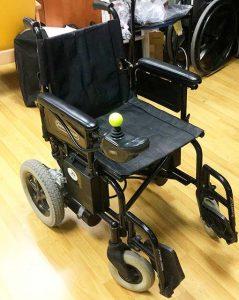 Silla de ruedas de segunda mano Powerchair
