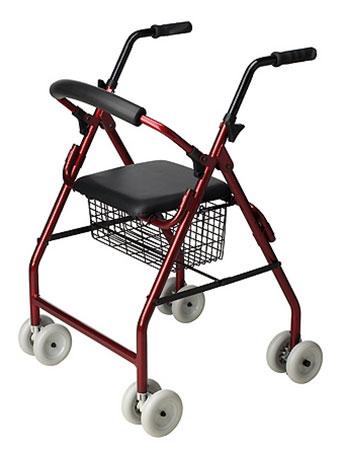 Andador para personas con problemas de mobilidad