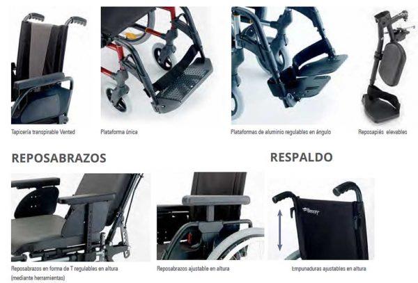 Silla de ruedas Breezy Premium