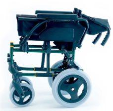 Silla de ruedas Breezy Premium respaldo partido