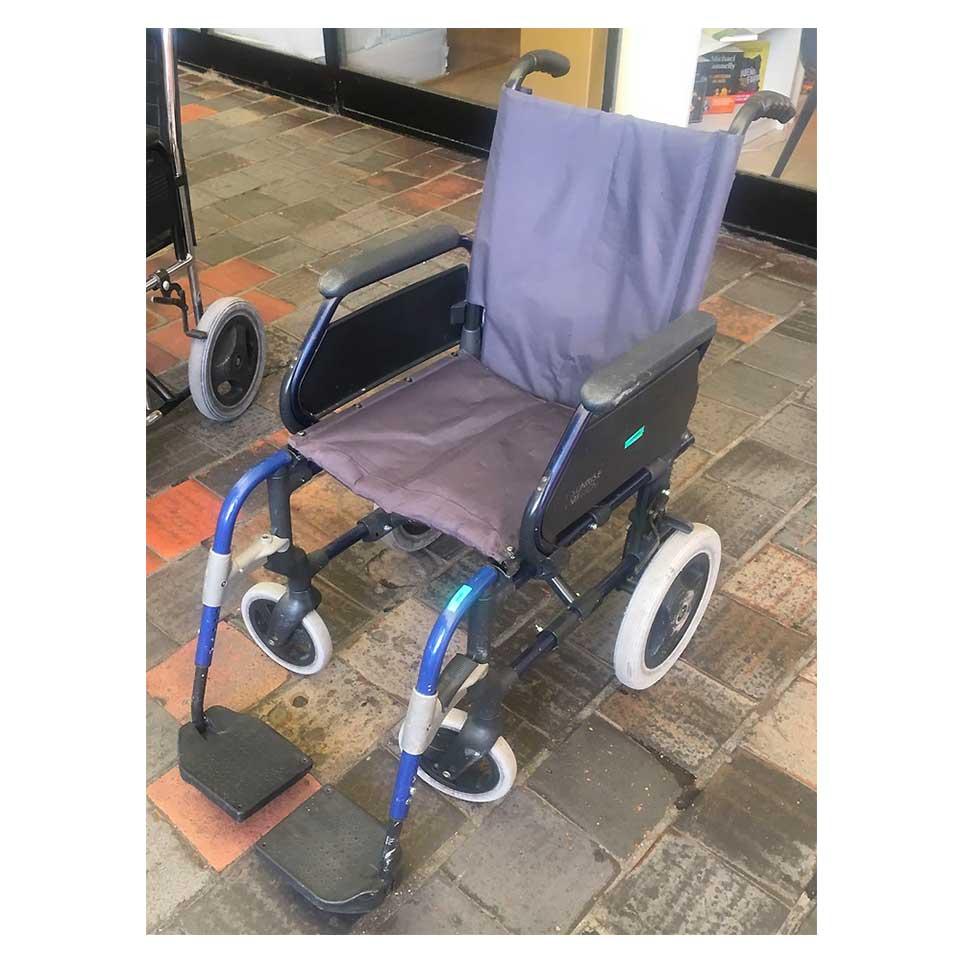 silla de ruedas breezy segunda mano