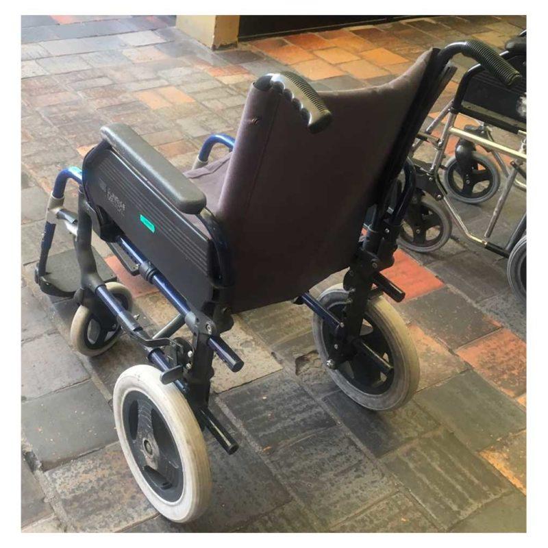 silla de ruedas de segunda mano