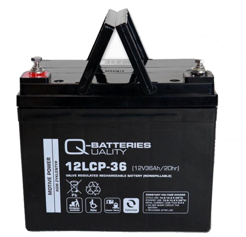 Baterías 36A para Scooter o sillas eléctricas