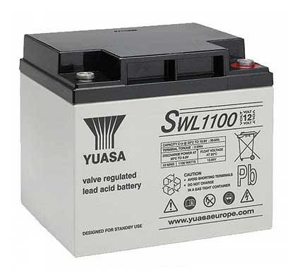 batería yuasa de 40a para sillas de ruedas eléctricas