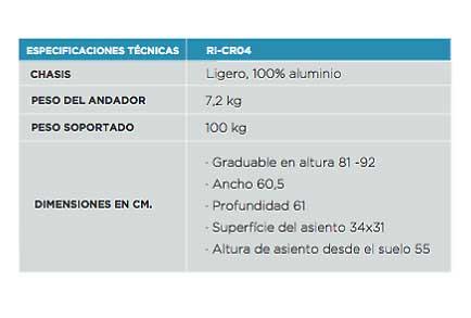 Andador CR04