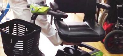 Video de alquiler de scooter minusválidos