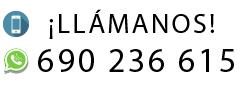Fijo: 916 346 637 · Móvil: 690 236 615 · Whatsapp: 690 236 615