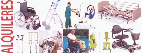 Alquiler productos ortopedia Madrid