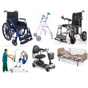 Alquiler productos ortopedia