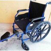 Alquiler sillas de ruedas con pierna elevada Málaga