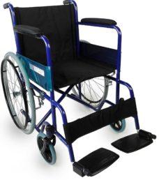 Silla de ruedas plegable barata modelo Alcazar