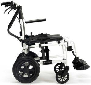 silla de ruedas estrecha bobby evo brazo abatible